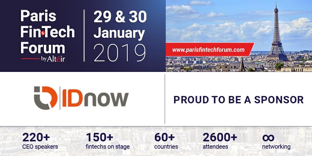 Paris FinTech Forum 2019 Silver Sponsor
