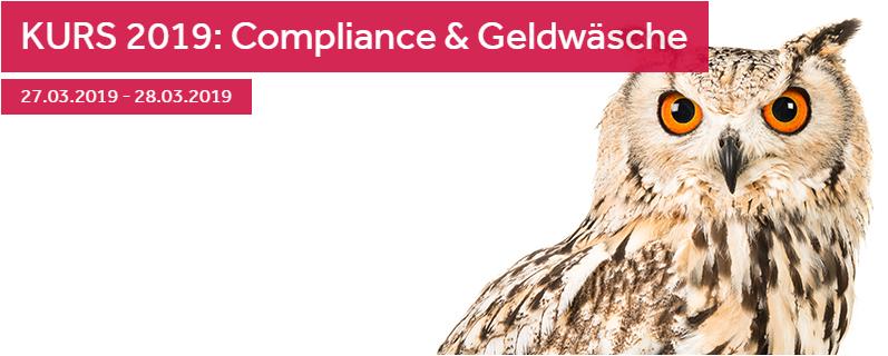 KURS 2019: Compliance & Geldwäsche